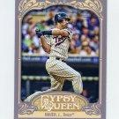 2012 Topps Gypsy Queen Baseball #140 Joe Mauer - Minnesota Twins