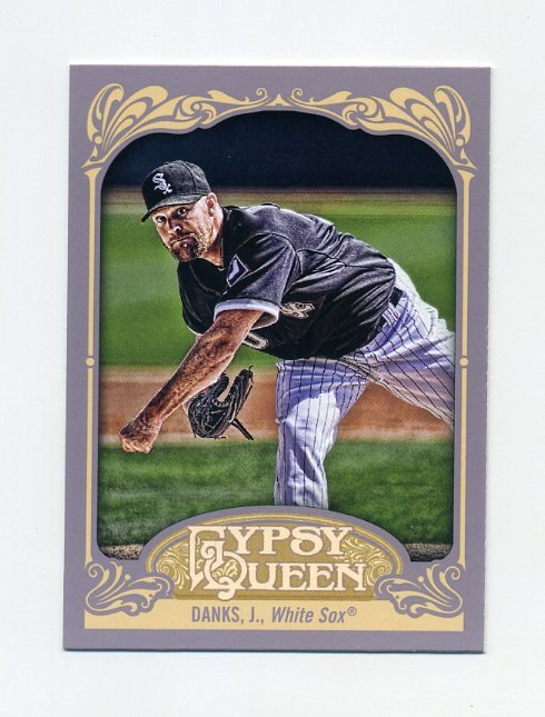 2012 Topps Gypsy Queen Baseball #106 John Danks - Chicago White Sox