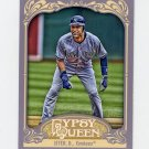 2012 Topps Gypsy Queen Baseball #100A Derek Jeter - New York Yankees