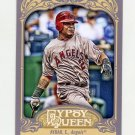 2012 Topps Gypsy Queen Baseball #088 Erick Aybar - Los Angeles Angels