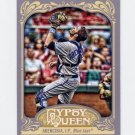 2012 Topps Gypsy Queen Baseball #077 J.P. Arencibia - Toronto Blue Jays