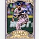 2012 Topps Gypsy Queen Baseball #061 Yunel Escobar - Toronto Blue Jays