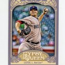 2012 Topps Gypsy Queen Baseball #035 Jon Lester - Boston Red Sox