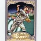 2012 Topps Gypsy Queen Baseball #024 Matt Cain - San Francisco Giants