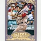 2012 Topps Gypsy Queen Baseball #022A Kevin Youkilis - Boston Red Sox