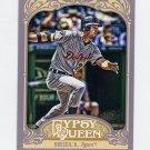 2012 Topps Gypsy Queen Baseball #012 Brennan Boesch - Detroit Tigers