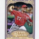 2012 Topps Gypsy Queen Baseball #008 Jordan Zimmermann - Washington Nationals