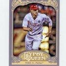 2012 Topps Gypsy Queen Baseball #002 Hunter Pence - Philadelphia Phillies