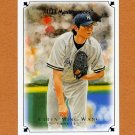 2007 UD Masterpieces Baseball #069 Chien-Ming Wang - New York Yankees