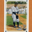2007 UD Masterpieces Baseball #008 Lou Gehrig - New York Yankees