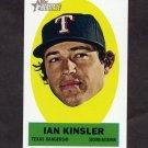 2012 Topps Heritage Stick-Ons Baseball #19 Ian Kinsler - Texas Rangers