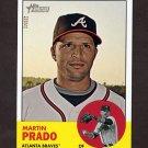 2012 Topps Heritage Baseball #298 Martin Prado - Atlanta Braves