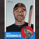 2012 Topps Heritage Baseball #270 Nate Schierholtz - San Francisco Giants