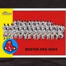 2012 Topps Heritage Baseball #202 Boston Red Sox Team Checklist