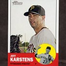 2012 Topps Heritage Baseball #101 Jeff Karstens - Pittsburgh Pirates