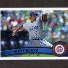 2011 Topps Baseball #370 Matt Garza - Chicago Cubs