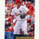 2009 Upper Deck Baseball #348 Adam Wainwright - St. Louis Cardinals