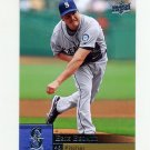2009 Upper Deck Baseball #331 Erik Bedard - Seattle Mariners
