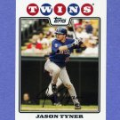2008 Topps Baseball #203 Jason Tyner - Minnesota Twins