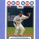 2008 Topps Baseball #178 Dustin Pedroia - Boston Red Sox