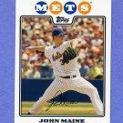 2008 Topps Baseball #171 John Maine - New York Mets