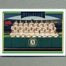 2006 Topps Baseball #285 Oakland Athletics TC
