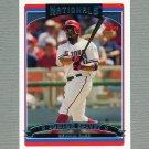 2006 Topps Baseball #103 Junior Spivey - Washington Nationals