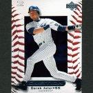 2000 Upper Deck Ovation Baseball #058 Derek Jeter - New York Yankees