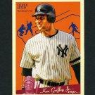 2008 Upper Deck Goudey Baseball #129 Derek Jeter - New York Yankees