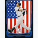 2012 Bowman International Baseball #001 Derek Jeter - New York Yankees