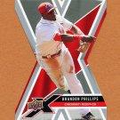 2008 Upper Deck X Die Cut Baseball #30 Brandon Phillips - Cincinnati Reds