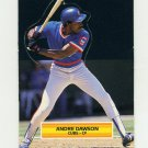 1989 Donruss Pop-Ups Baseball #34 Andre Dawson - Chicago Cubs