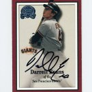 2000 Greats of the Game Baseball #065 Darrell Evans - San Francisco Giants AUTO