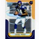 1999 Playoff Momentum SSD Football #127 Randy Moss - Minnesota Vikings