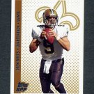 2006 Topps Draft Picks and Prospects Football #093 Drew Brees - New Orleans Saints