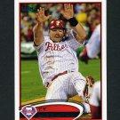 2012 Topps Update Baseball #US082 Ty Wigginton - Philadelphia Phillies