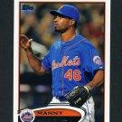 2012 Topps Update Baseball #US058 Manny Acosta - New York Mets