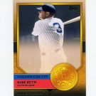 2012 Topps Golden Greats Baseball #GG73 Babe Ruth - New York Yankees