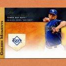 2012 Topps Golden Moments Baseball #GM49 James Shields - Tampa Bay Rays