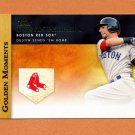 2012 Topps Golden Moments Baseball #GM46 Dustin Pedroia - Boston Red Sox