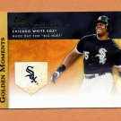 2012 Topps Golden Moments Baseball #GM35 Frank Thomas - Chicago White Sox