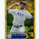 2012 Topps Gold Sparkle Baseball #301 Alexi Ogando - Texas Rangers