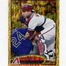 2012 Topps Gold Sparkle Baseball #288 Miguel Montero - Arizona Diamondbacks