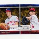 2012 Topps Timeless Talents Baseball #TT14 Nolan Ryan / Jered Weaver - Angels