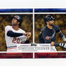 2012 Topps Timeless Talents Baseball #TT08 Frank Robinson / Jose Bautista
