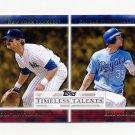 2012 Topps Timeless Talents Baseball #TT03 Don Mattingly / Eric Hosmer