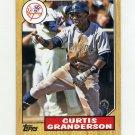 2012 Topps 1987 Topps Minis Baseball #TM50 Curtis Granderson - New York Yankees