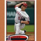 2012 Topps Baseball #317 Tyler Chatwood - Los Angeles Angels