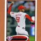 2012 Topps Baseball #287 Antonio Bastardo - Philadelphia Phillies