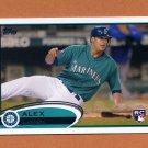 2012 Topps Baseball #274 Alex Liddi RC - Seattle Mariners